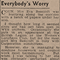 Everybody's Worry, 1947 Mar 22, Hull Daily Mail