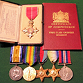 Discovery of George Stephenson Hepton's war medals