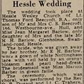 Hessle wedding, 1945 Dec 11, Hull Daily Mail