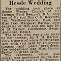 Hessle wedding thumb