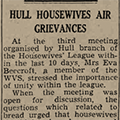 Hull Housewives Air Grievances, 1946 July 26, Hull Daily Mail