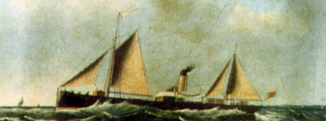 The collision with the Bull lightship