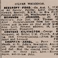 Silver wedding Beecroft-Ford thumb