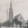 Wedding at St. Matthew's, 1934 November 8, Hull Daily Mail