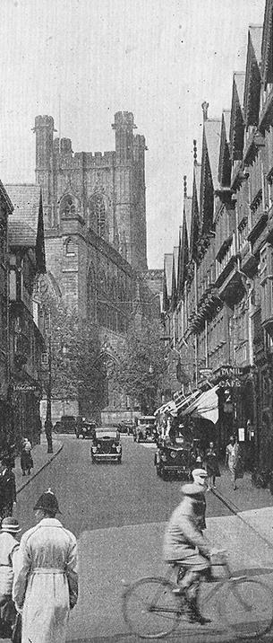 St Werburgh Street Chester