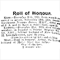 Walter Linskill Roll of Honour, 1916 Dec 27, Hull Daily Mail