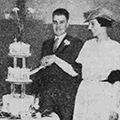 Wedding of Kate Hepton and William Barkworth, 1934 November 8, Hull Daily Mail